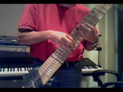 Play it Again by Frank Boxberger 12 String Chapman Stick