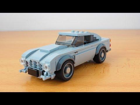 Lego James Bond's Aston Martin DB5 with working gadgets MOC
