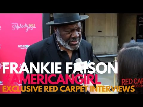 Frankie Faison at the premiere of An American Girl Story Melody 1963: Love Has To Win