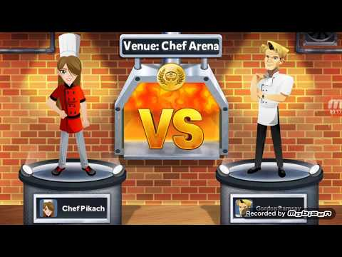 Ramsay Dash,  Game Level: Chef Arena - Challenge Gordon Ramsay