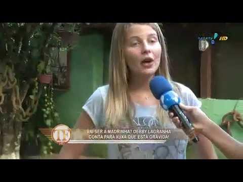 TV Fama Debby Lagranha conta detalhes da 1a gravidez