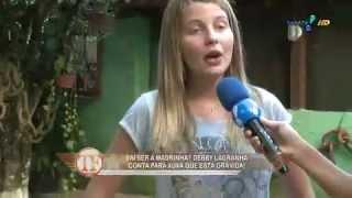 TV Fama: Debby Lagranha conta detalhes da 1ª gravidez