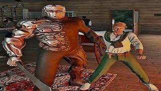 JASON X GAMEPLAY EXCLUSIVO NUNCA VISTO ANTES  FRIDAY THE 13TH: THE GAME