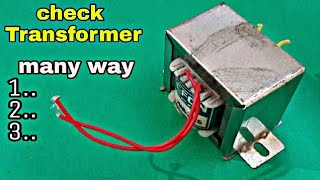 3 WAY check to Transformer!
