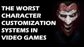 15 Worst Character Customization Systems In Video Games