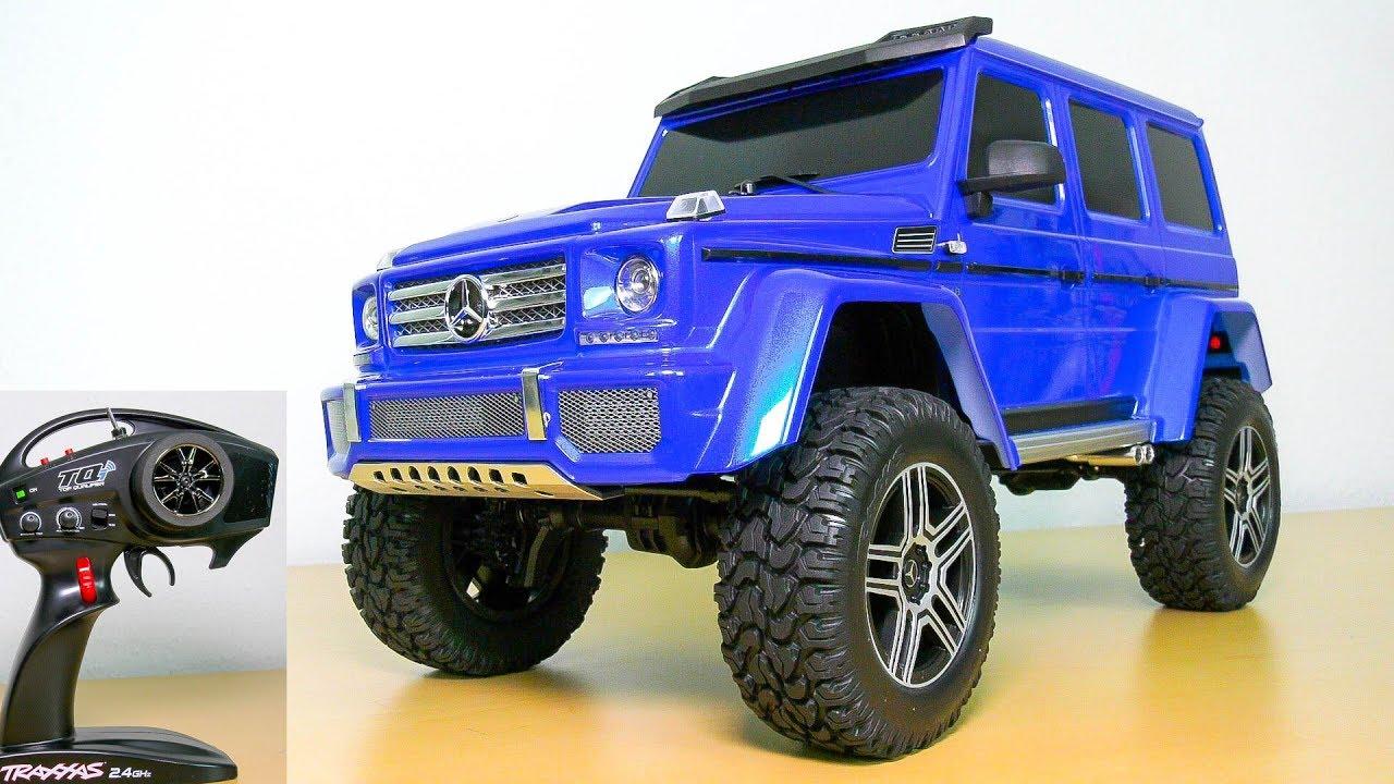 TRAXXAS G500 4x4 MERCEDES-BENZ TRX-4 UNBOXING!! RC CRAWLER, RC SCALER, RC  TRAIL TRUCK