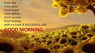 Good morning whatsapp video-greetings-sms-latest good morning wishes-ecards-quotes-sayings-images-