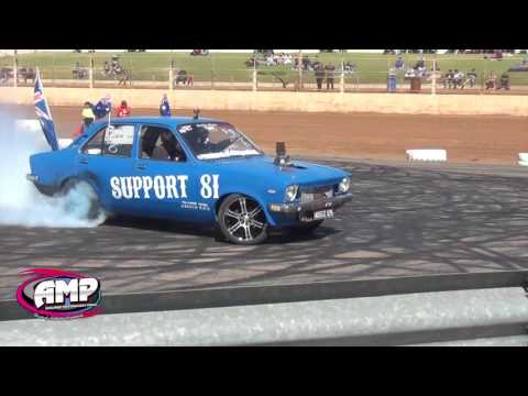 ADELAIDE MOTORSPORT PARK BURN OUT ADD 11 3 2017