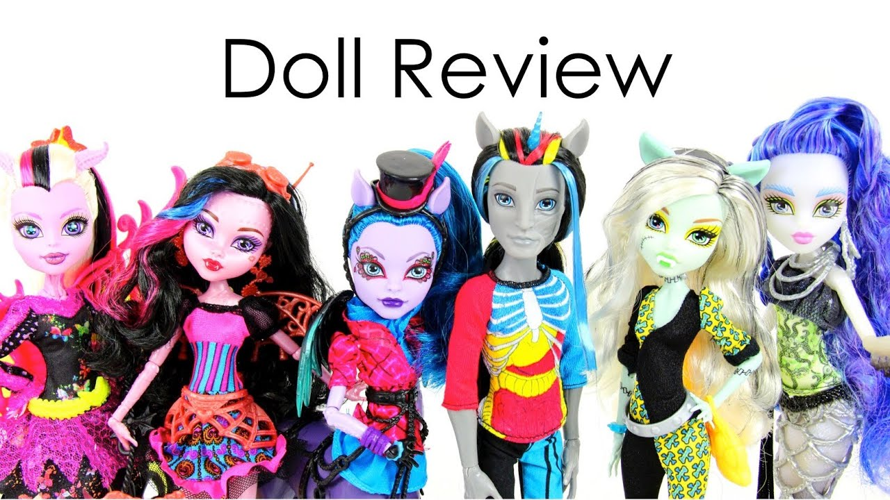 Doll Review Monster High Freaky Fusion  YouTube