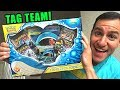*ULTRA RARE NEW POKEMON CARDS!* Opening a Towering Splash Tag Team Up GX Box!