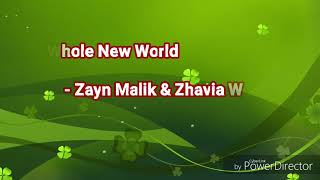 Gambar cover ZAYN, ZHAVIA WARD - A WHOLE NEW WORLD (END TITLE) (FROM ALLADIN)