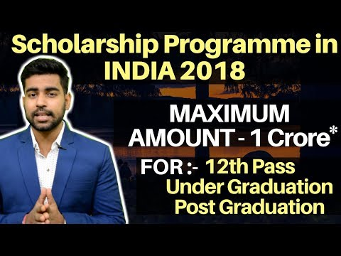 Scholarship Options in India  by Government of India | Colle