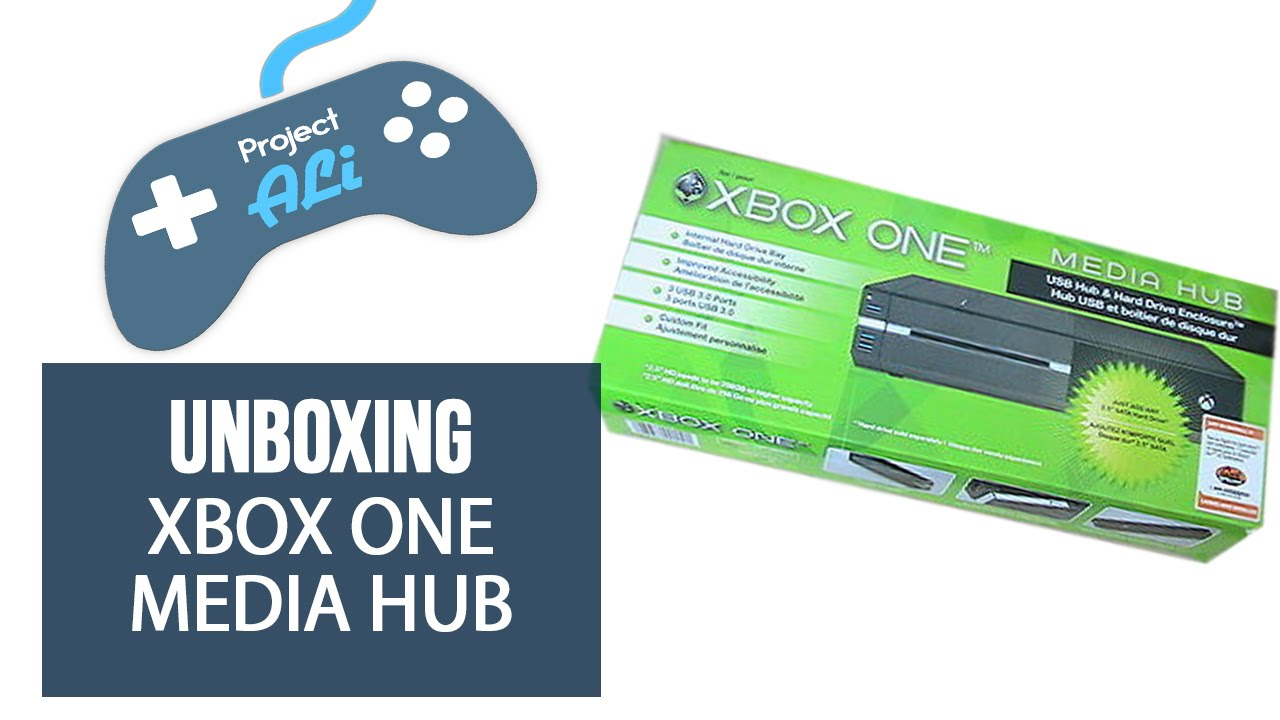 Unboxing: Collective Mind's Xbox One Media Hub (HDD Enclosure & USB Hub)