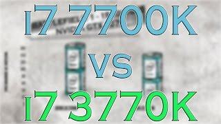 7700k vs 3770k i7 7700k benchmark test kaby lake vs ivy bridge review and comparison