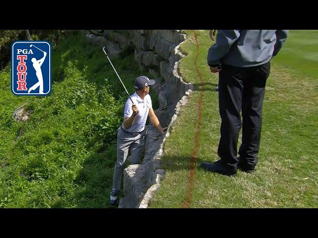 Justin Thomas' miraculous par-save at Dell Match Play