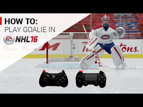 NHL 16 | How to Play Goalie Tutorial | Xbox One, PS4 - Unlisted EA SPORTS tutorial giving advice on how to play goalie in the NHL 16 ice hockey game for Xbox One and PS4.