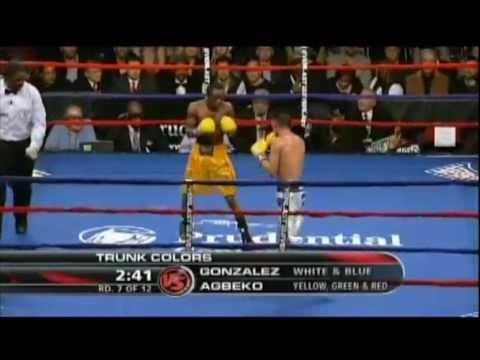 Joseph Agbeko vs William Gonzalez