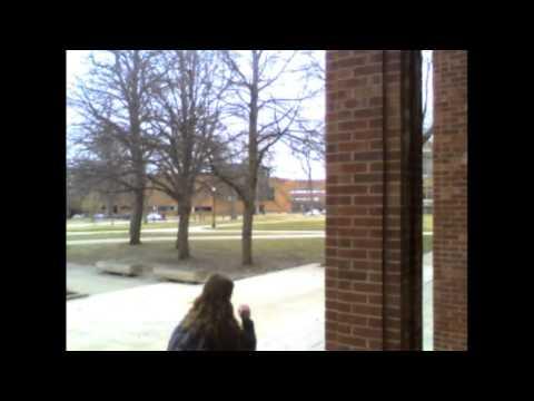 Drake University Cowles Library:  North Entrance