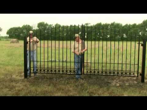 Driveway Gate Installation Video
