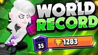 THE NEW ALL TIME WORLD RECORD MORTIS This Pro Player Reached Rank 35 1283 Trophies With Mortis
