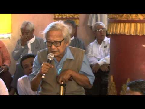 Shwe Nya War Sayadaw - 91st National Day Event - 2011 - Rangoon - Part 1