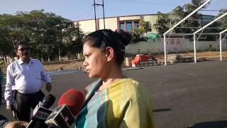 Chief secretary Rajbala verma (ias) inspected  khel ganv  for Momentum Jharkhand 16-17 February with