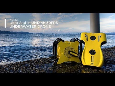 Nemo, Ultra-High-Definition 4K Underwater Drone