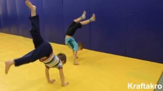 видео Акробатика для детей