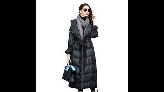 Новинка зимняя женская куртка уличная мода женские длинные пуховики крутой пуховик с капюшоном