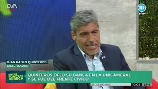 Quinteros renuncio  a su banca en la legisladura. canal 10-Cordoba.