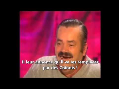 Risitas dans une entreprise informatique Française avec Macron