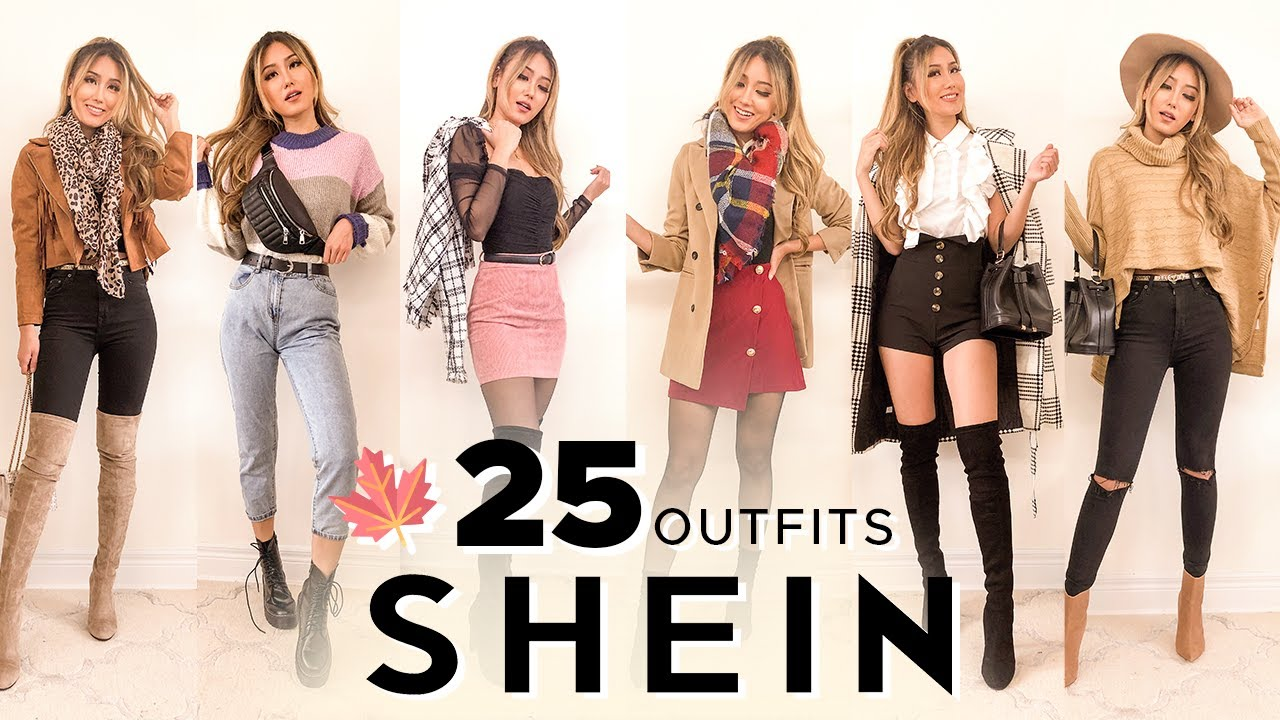 [VIDEO] - 25 SHEIN FALL OUTFITS UNDER $40 | Try-on Haul & Review 9