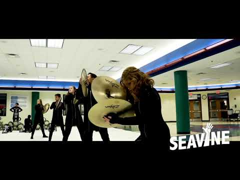 Victor J Andrew High School Cymbal Line 2019 WGI Indy Regional- In the Lot with Seavine