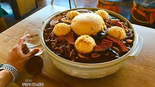 【大食い】超熱い鍋焼きうどん(総重量不明)を食べてきた‼️【MAX鈴木】【マックス鈴木】【Max Suzuki】