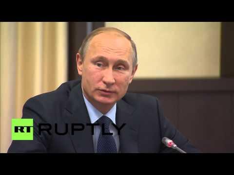 Russia: Putin talks fighting 'terrorism' with CIS' security & intelligence agencies