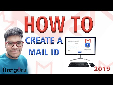 How to Create Email ID - Make A Email ID For Personal And Business Use Both 2019 : FirstGuru