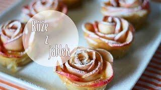 Jablečné růže, růže z jablek / Diy apple roses/ Videorecept