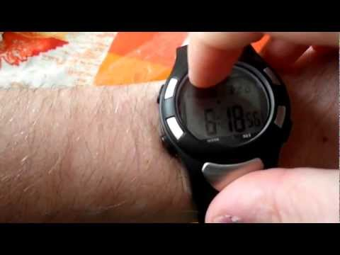 Digital Sports Watch Heart Beat Pulse Rate Monitor Counter (Unboxing)