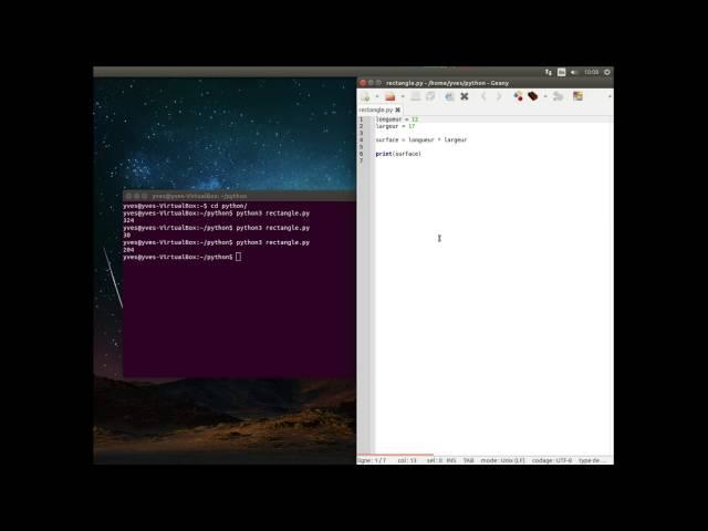 Programmes en langage Python