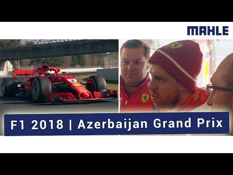 F1 2018 Azerbaijan Grand Prix - 56% Full Speed per Round!