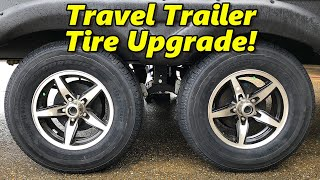 Goodyear Endurance ST Tire Upgrade for our Travel Trailer