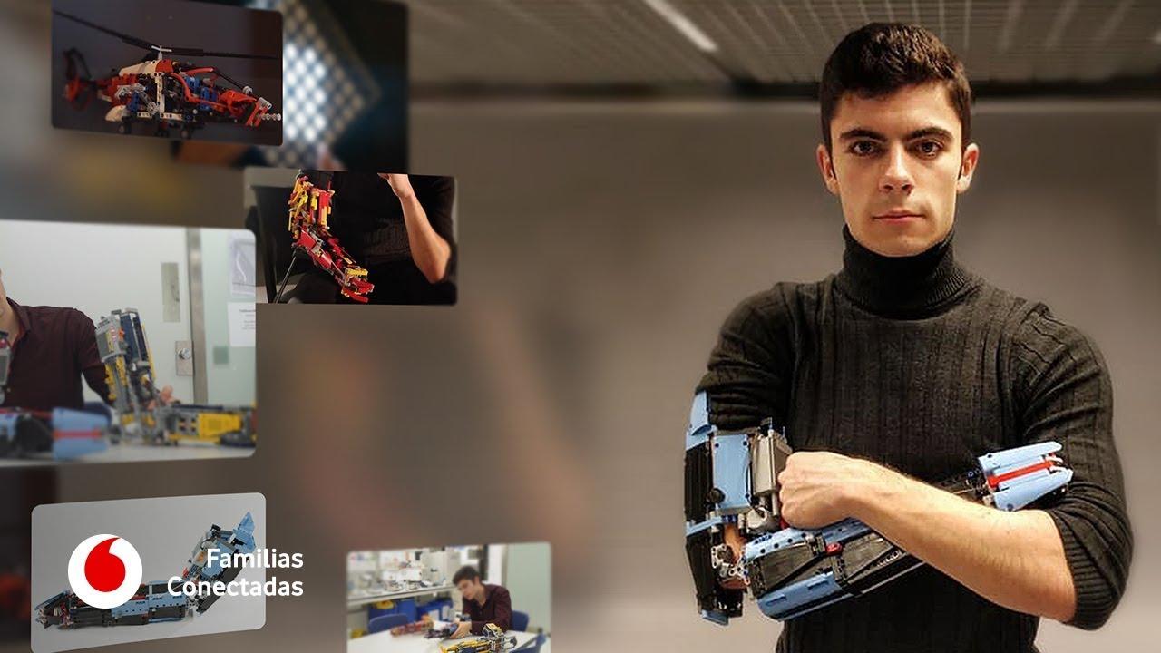 Hand Solo, el joven que fabrica sus propias prótesis con piezas de Lego  #FamiliasConectadas