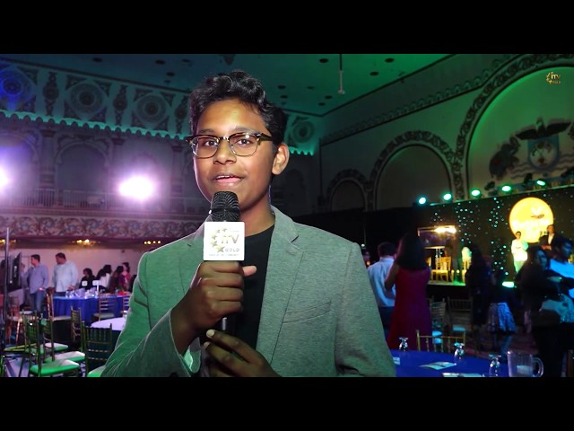 Navneeth Murali Wins South Asian Spelling Bee 2019 - Royal Alberts Palace - New Jersey