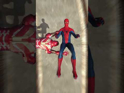 black superman bullies VS red superman