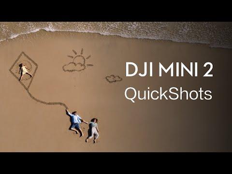 DJI Mini 2 | How to Use QuickShots