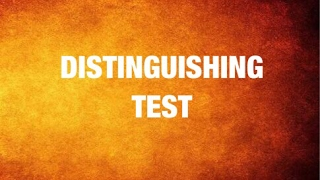 List of Distinguishing test  for Class XII organic chemistry