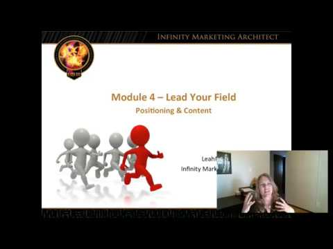 Module 4   Lead the Field