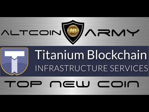TOP NEW ALTCOIN - Titanium BAR - Altcoin Army Pick