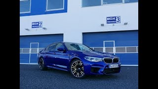 THE FASTEST BMW M: REVIEW 2018 BMW M5 - PART 1 | MT CARS
