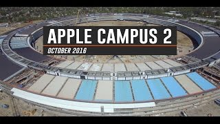 APPLE CAMPUS 2 October 2016 Update 4K